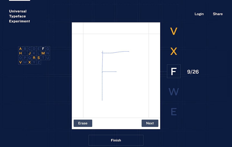 """世界で最も標準的な手書き文字フォントを """"手書きビッグデータ"""" から作ろう!Bic「Universal Typeface Experiment」"""